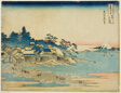 "Enoshima in Sagami Province (Soshu Enoshima), from the series ""Thirty-six Views of Mount Fuji (Fugaku sanjurokkei)"""