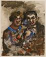 Portrait Study of Goeritz and Wife