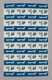 Animal Forms (Furnishing Fabric)