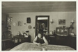 Evelyn Grube in her dining room, Jo Daviess County, Illinois