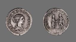 Denarius (Coin) Portraying Plautilla