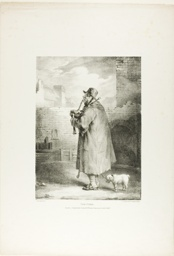 The Piper, plate one from Various Subjects Drawn from Life on Stone