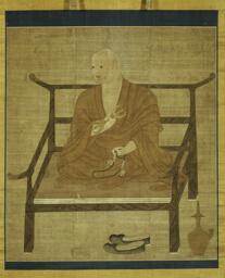 Portrait of Kobo Daishi (Kukai)