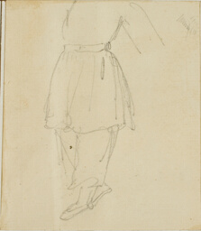 Lower Part of a Figure in Working Clothes