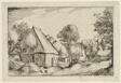 A Farmyard, plate five after Pictures of Farms, Country Houses and Rustic Villages (Praediorum villarum et rusticarum casularum icones)