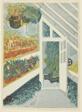 "Greenhouse, from the series ""Prints of the Shinjuku Imperial Garden (Shinjuku Gyoen hanga)"""
