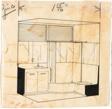 Prefab Bathroom Unit, House Studies: Interior Perspective