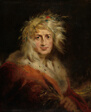 David Garrick as King Lear