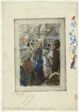 The Market at Gisors; Rue Cappeville