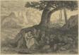 Hermit in Landscape