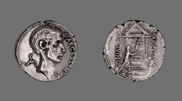 Denarius (Coin) Portraying Marcus Claudius Marcellus