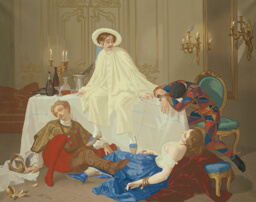 The Supper after the Masked Ball