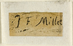 Signature Fragment from the Shepherdess