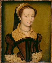 Portrait of Louise de Halluin, dame de Cipierre