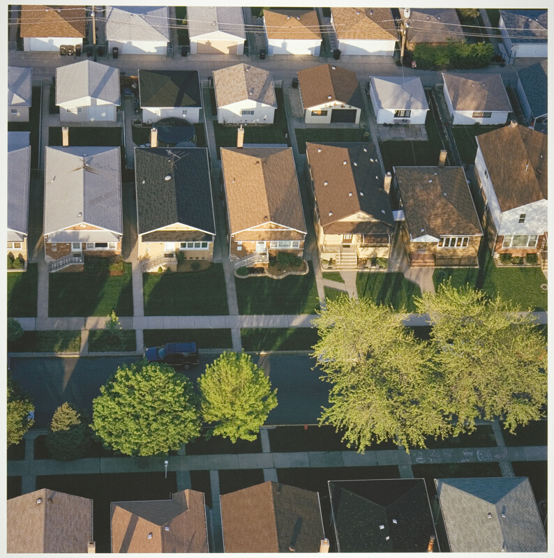 Bungalows, Chicago\'s Southwest Side, Just West of Midway Airport ...