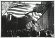 Two American Flags, Freed Iranian Hostage Tickertape Parade, New York City