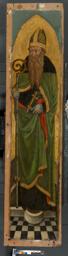 Bishop Saint from an Augustinian altarpiece