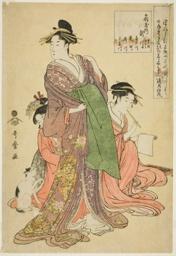 Takigawa of the Ogiya (Ogiya uchi Takigawa, Onami, Menami, Kisagawa, Hanamichi, Himekawa, Kumegawa)
