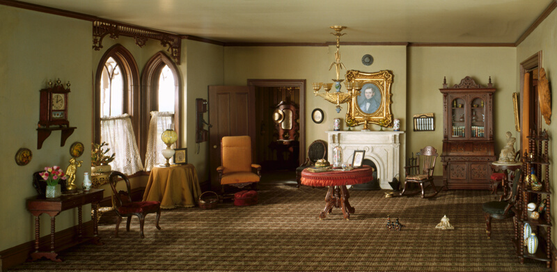 """Rooms: A33: """"Middletown"""" Parlor, 1875-90"""