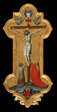 Processional Cross with Saint Mary Magdalene and a Blessed Hermit