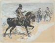 Arabian Chief and Cavalrymen
