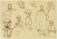Sketches of Algerian Men