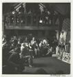 "Hans Hofmann, ""Friday Critique"" at his school in Provincetown"