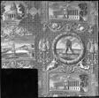 Les Monuments de Paris (The Monuments of Paris) (Furnishing Fabric)