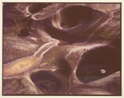 Rock Bed of Yellow Creek Between Tapoco and Santeelah Lake, N.C.