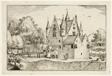 A Castle, plate 22 after Pictures of Farms, Country Houses and Rustic Villages (Praediorum villarum et rusticarum casularum icones)