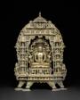 Altarpiece with the First Jaina Tirthankara Rishabhanatha Surrounded by Twenty-Three Other Tirthankaras