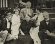 Untitled (Stieglitz, Agnes, mother Hedwig, Julius, Selma, and Lee on Oaklawn steps)