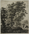 Hagar Comforted by the Angel, from Six Large Upright Landscapes with Scenes from the Old Testament