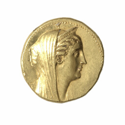 Octodrachm (Coin) Portraying Queen Arsinoë II
