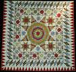 Bedcover (Star of Bethlehem Quilt)