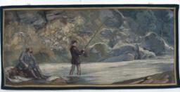 Cornelius Vanderbilt Fishing