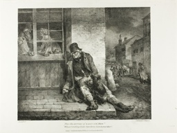 Pity the Sorrows of a Poor Old Man!... plate 2 from Various Subjects Drawn from Life on Stone