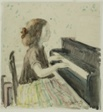 Frances at the Piano