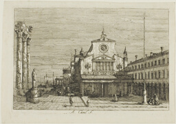 Imaginary View of S. Giacomo di Rialto, from Vedute