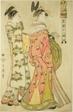 """Hour of the Monkey [4pm] (Saru no koku), from the series """"The Twelve Hours in Yoshiwara"""" (""""Seiro juni toki tsuzuki"""")"""