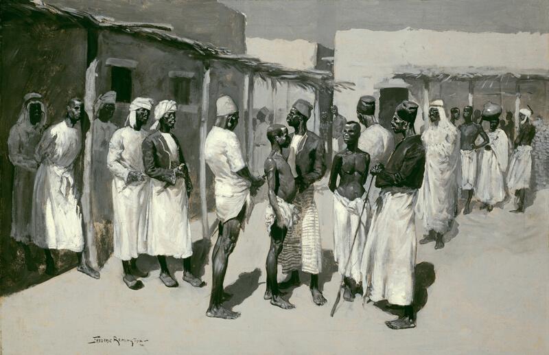 Slave Market The Art Institute of Chicago