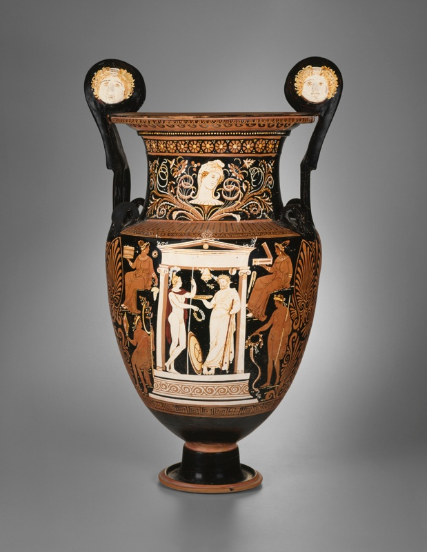Volute Krater Mixing Bowl The Art Institute Of Chicago