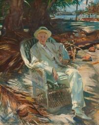 Portrait of Charles Deering