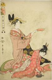 """Hour of the Boar (I no koku), from the series """"Twelve Hours in Yoshiwara (Seiro juni toki tsuzuki)"""""""