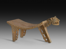 Ceremonial Grinding Table (Metate) in the Form of a Feline