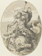 Oceanus, plate two from Demogorgon and the Dieties