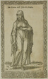 Maltese Woman from Le Navigationi nella Turchia, plate 61 from Woodcuts from Books of the XVI Century
