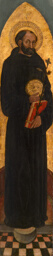Saint Nicholas of Tolentino from an Augustinian altarpiece