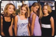 Alli, Annie, Hannah, and Berit, all 13, Before the First Big Party of the Seventh Grade, Edina, Minnesota