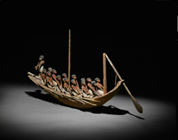 Model of a River Boat